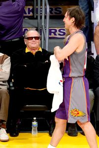 Steve Nash & Jack Nicholson