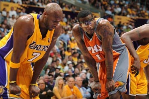 Amare Stoudemire & Lamar Odom