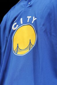 Warriors Warm-Up Jersey