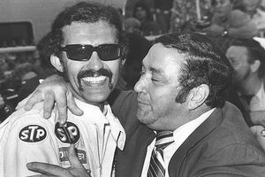 Richard Petty and Andy Granatelli
