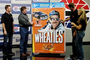 Dale Earnhardt/Wheaties Box