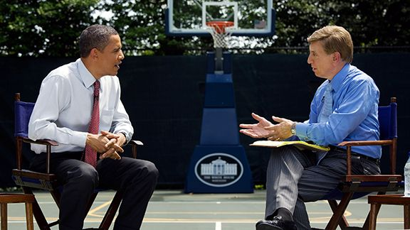Barack Obama, Marv Albert