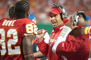 Dwayne Bowe and Todd Haley