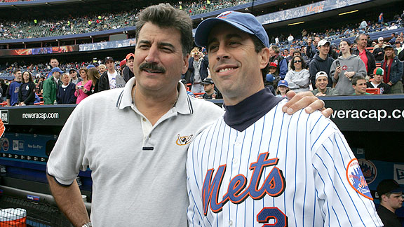 Keith Hernandez and Jerry Seinfeld