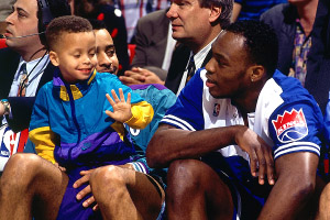 Stephen & Dell Curry