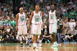 Paul Pierce, Ray Allen, Kevin Garnett