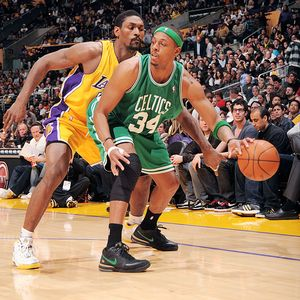 Ron Artest and Paul Pierce
