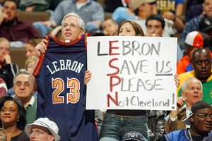 LeBron Fans