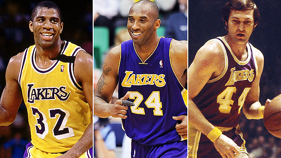Magic Johnson/Kobe Bryant/Jerry West