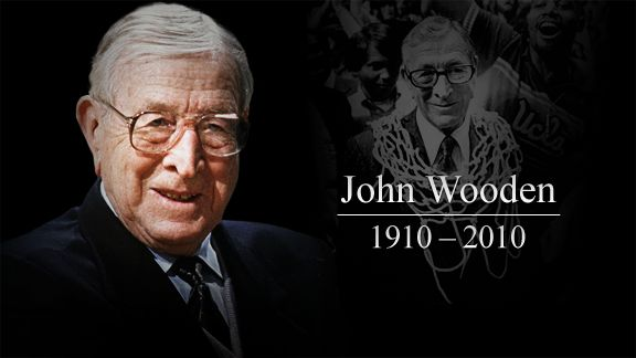 john wooden wooden on leadership John wooden, former coach of the university of california, los angeles (ucla) men's basketball team, has won twice as many championships as the next most successful men's collegiate basketball coach this paper will examine the methods he used in his coaching, his leadership style, and how it compares with various.