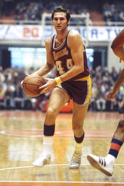 Nba logo before jerry west 12 jerry west