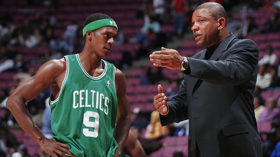 Rajon Rondo and Doc Rivers