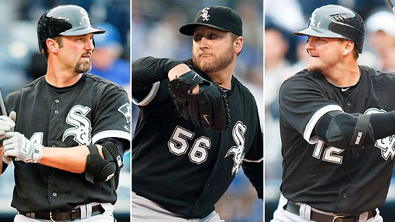 Konerko/Buehrle/Pierzynski 