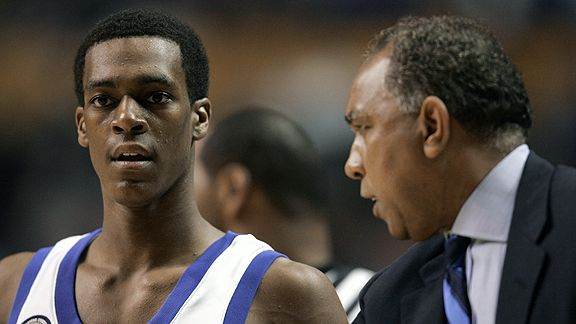 Rajon Rondo and Tubby Smith
