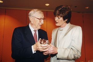 John Wooden, Pat Summitt