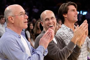 David Geffen, Jeffrey Katzenberg, Tom Cruise