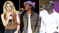 Shakira, K'naan, Akon