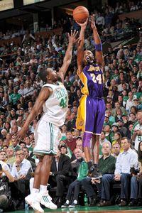 Kobe Bryant and Tony Allen