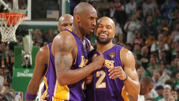 Kobe Bryant and Derek