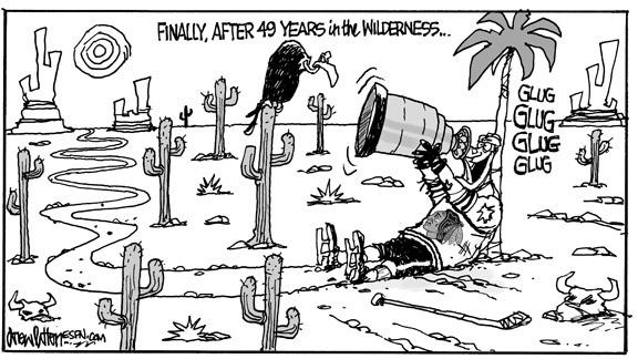 Blackhawks Cartoon