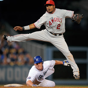 Chad Billingsley and Erick Aybar
