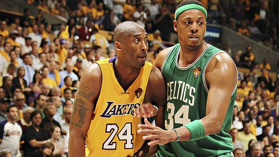 paul pierce dunking on lebron. paul pierce dunking on kobe