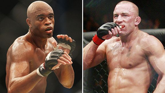 Anderson Silva, George St. Pierre