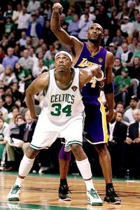 Paul Pierce & Kobe Bryant