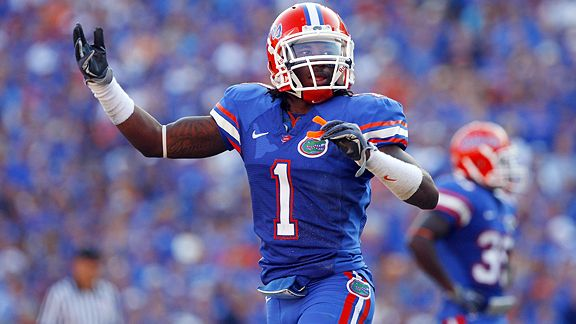 2012 NFL draft - Former Florida Gators CB Janoris Jenkins walking ...