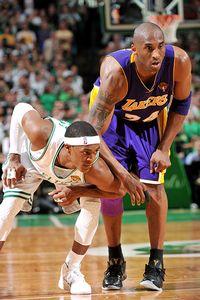 Rajon Rondo & Kobe Bryant