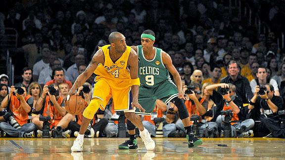 Shithy Sports: Boston vs LA Lakers at National Basketball