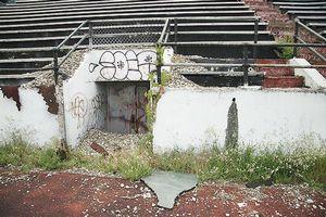 Hinchliffe Stadium decay