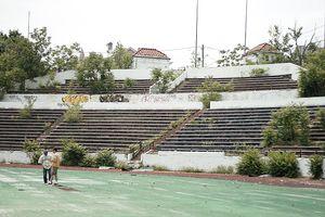 Hinchliffe Stadium grandstands