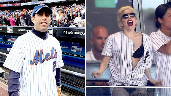 Jerry Seinfeld & Lady Gaga