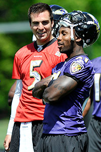 Joe Flacco and Joe Flacco