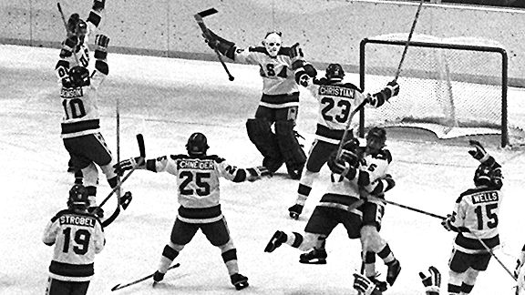 The 1980 U.S. Olympic hockey team