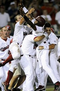 South Carolina celebrates win