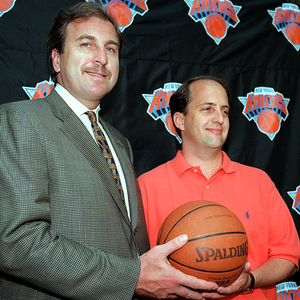 Jeff Van Gundy and Ernie Grunfeld