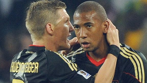 Bastian Schweinsteiger and Jerome Boateng