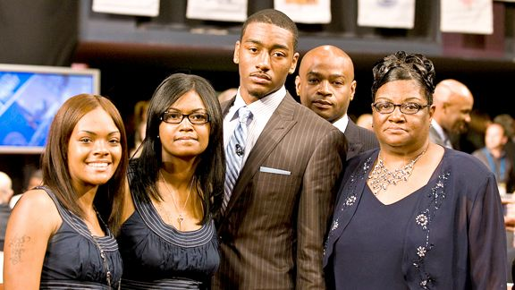 John Wall and family