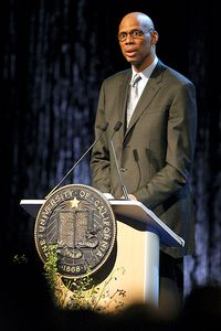 Former UCLA and NBA player Kareem Abdul Jabbar