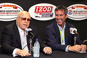 O. Bruton Smith and Randy Bernard