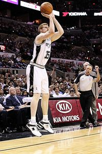 Matt Bonner of the San Antonio Spurs