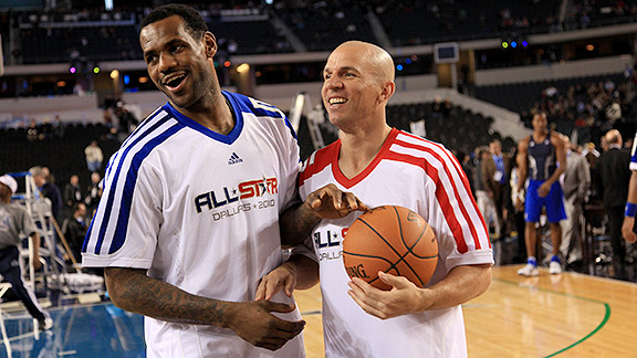 LeBron James and Jason Kidd