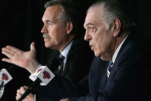 Donnie Walsh & Mike D'Antoni