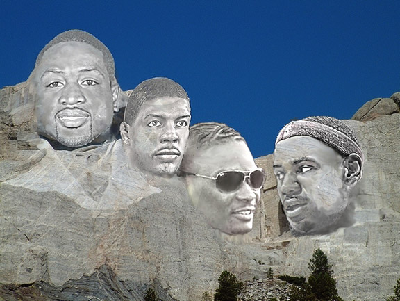 Mount Rushmore Illustration