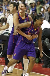 Diana Taurasi and Cappie Pondexter