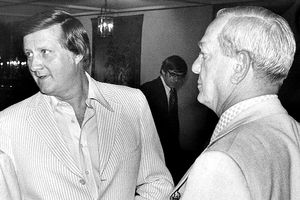George Steinbrenner and Gabe Paul