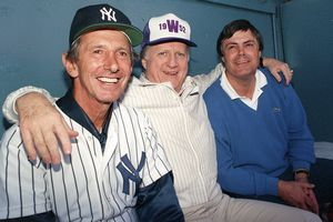 George Steinbrenner, Billy Martin, and Lou Piniella