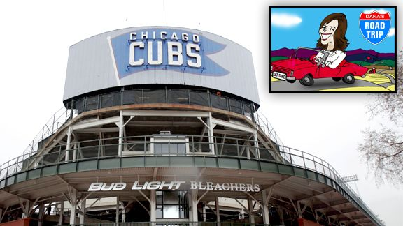 Wrigley Field, Bleachers entrance